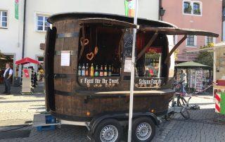 Herbstfest Weiden i moch de Gambrinus Weiden Zoiglfass Weiden Bier auf Rädern