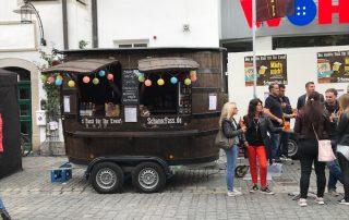 Bürgerfest Sommerfest Stadtfest Altstadtfest mobile Bar Ausschank Schankwagen Bierwagen mobile Theke schnelle Theke